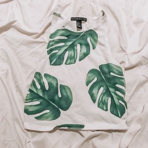 Leaf crop top